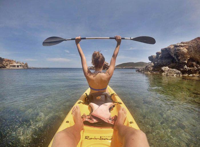 Ruta Kayak Ibiza
