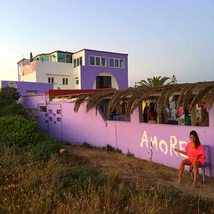 Chiringuito Amore y Odio Formentera
