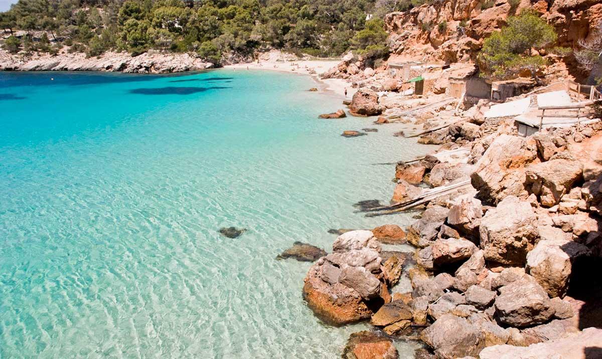 Mapa De Ibiza Calas.20 Playas Que No Te Puedes Perder En Ibiza Norte