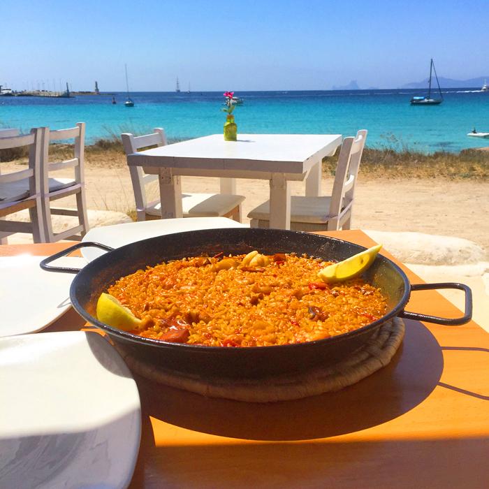 Paella Formentera
