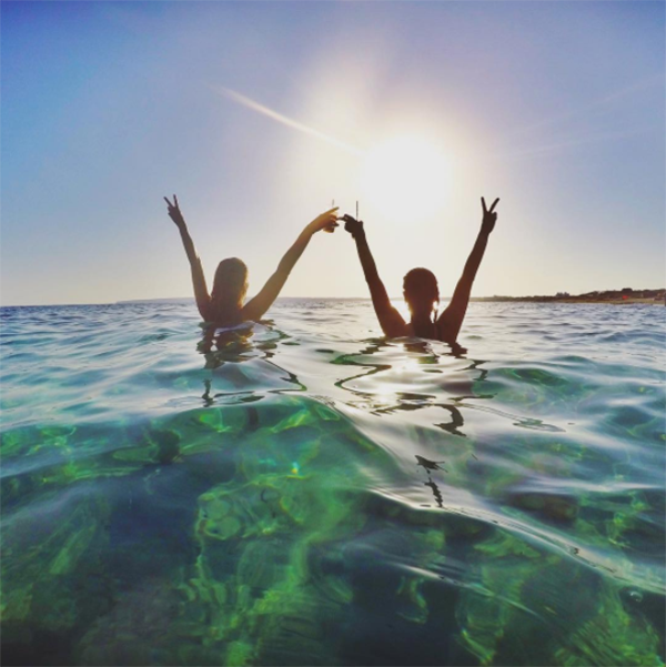 @missaguillen Formentera Sunset Ibizaplus