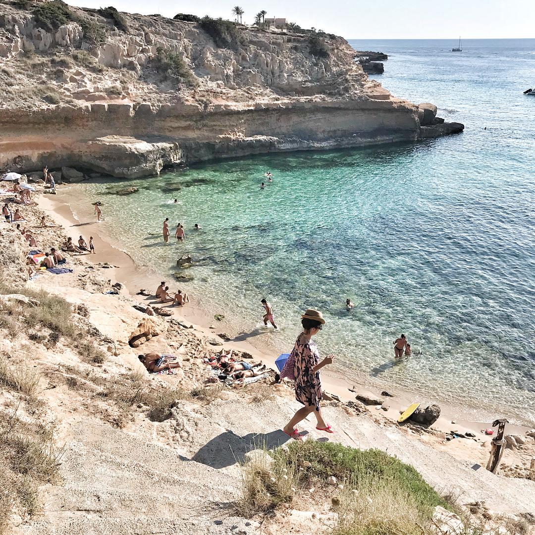 Cala Escondida Ibiza Cala Comte 1