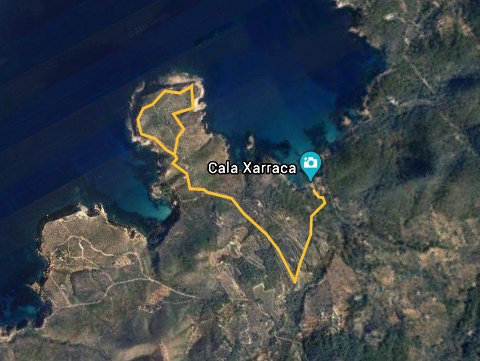 Ruta Punta Xarraco Ibiza 10