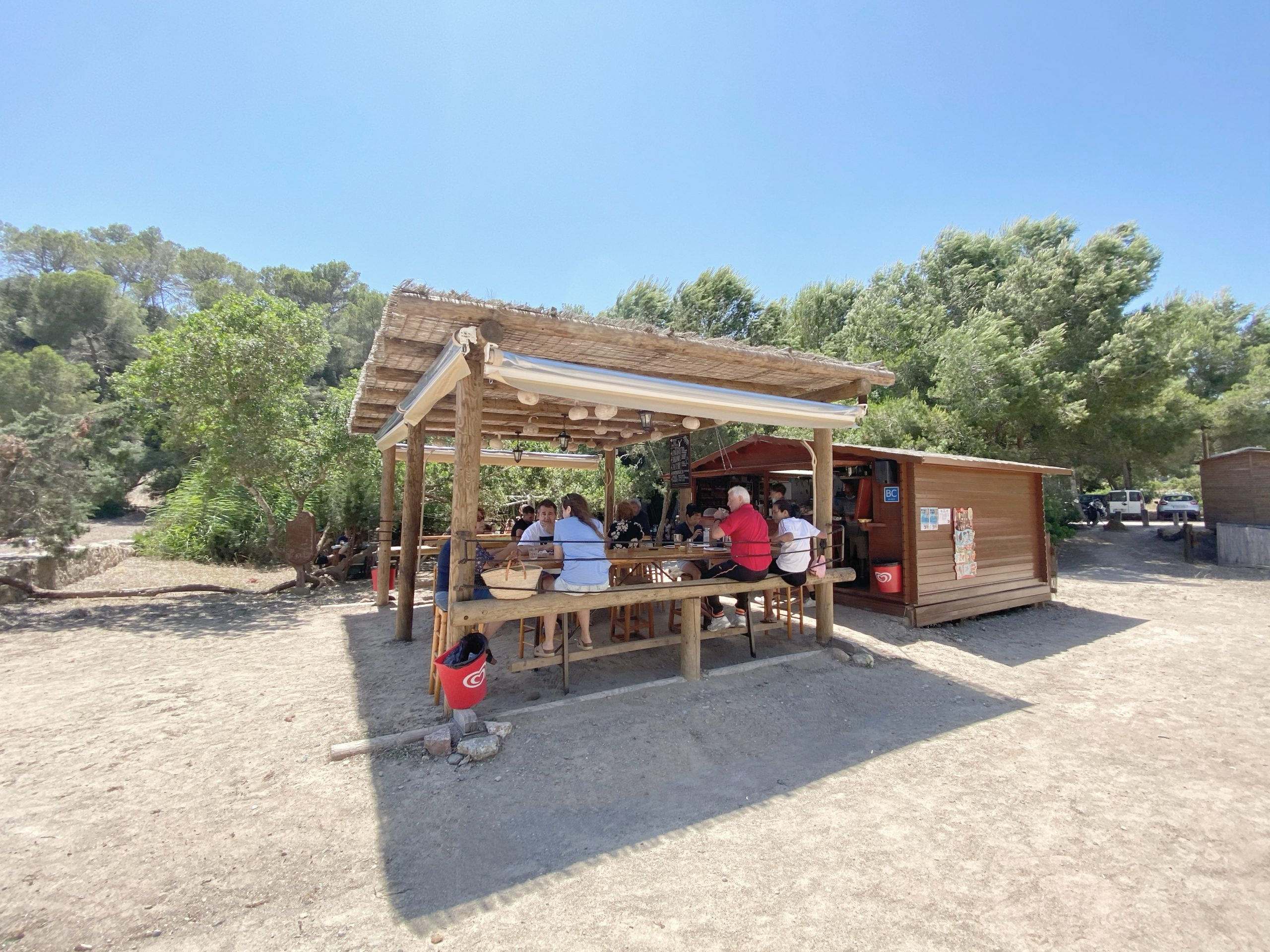 Chiringuito Cala Mastella Ibiza 1