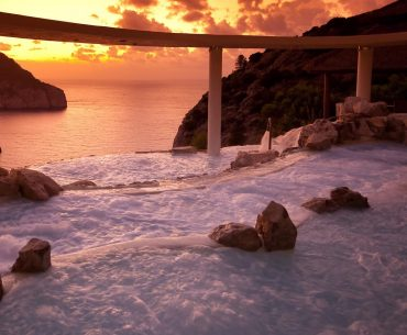 Na Xamena spa Ibiza Sunset