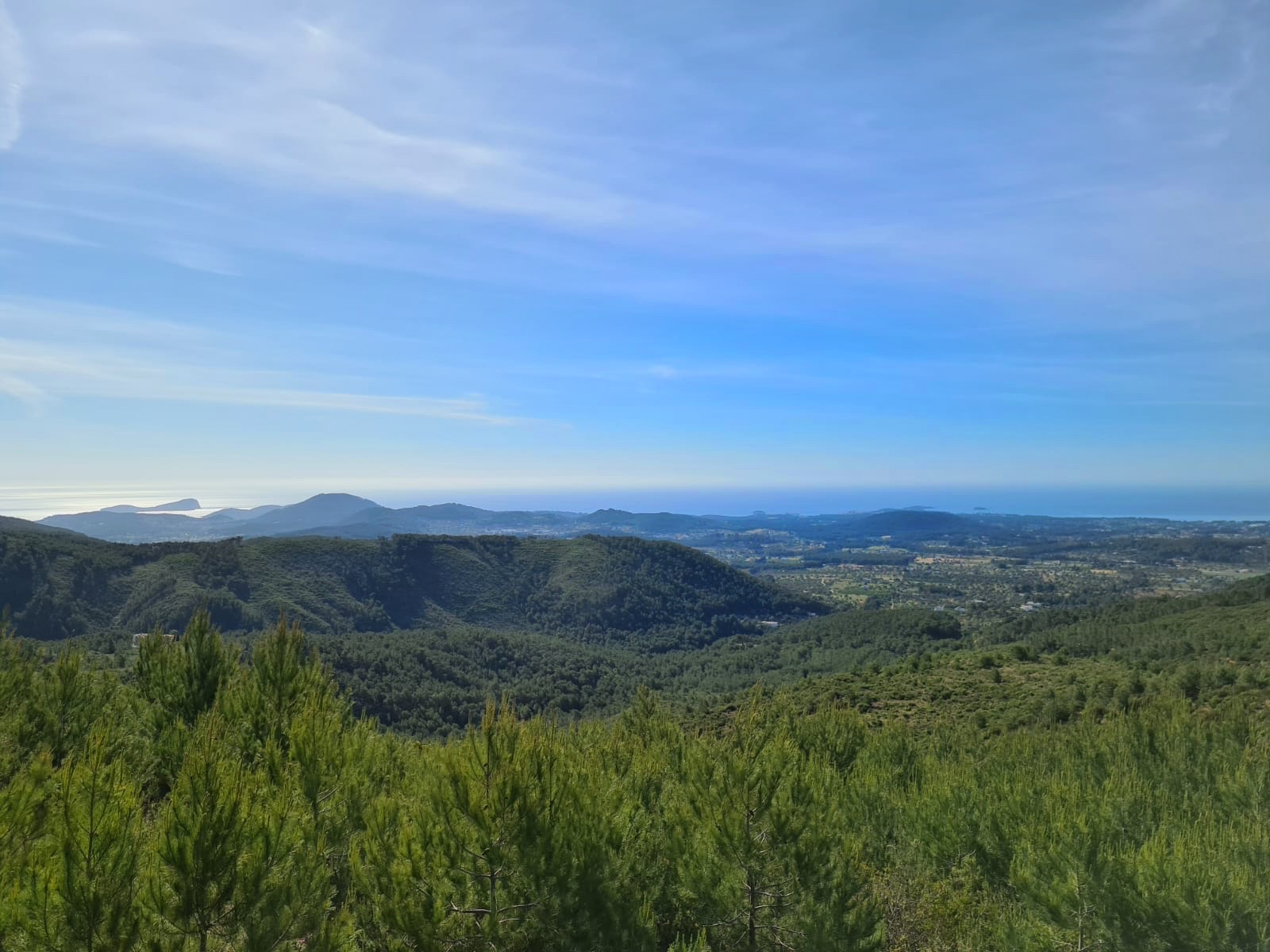 Vistas Punto Geodésico Ibiza