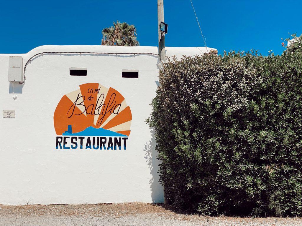 Restaurante Camí de Balàfia Ibiza 1