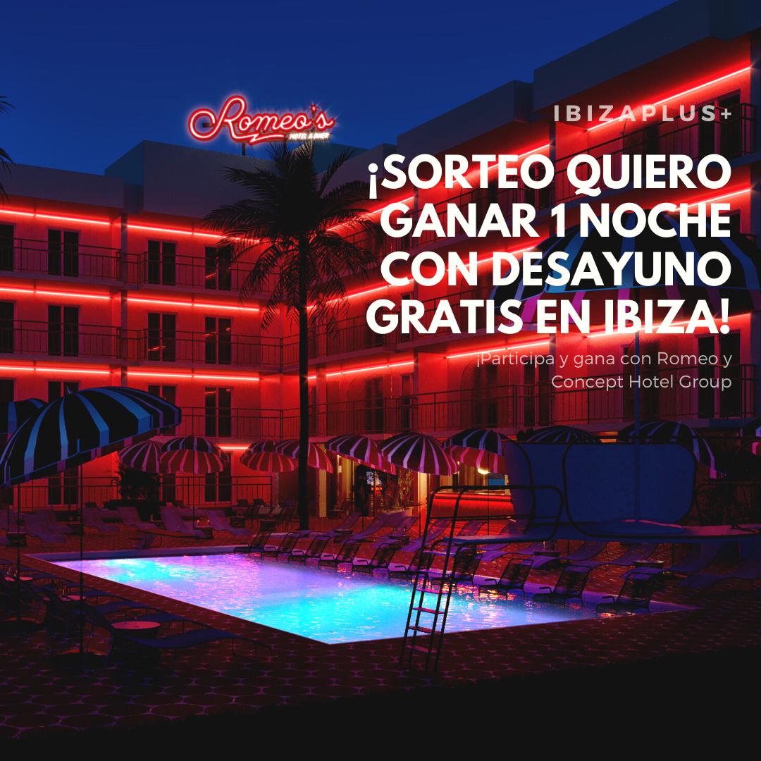 Sorteo Romeos Motel Ibiza