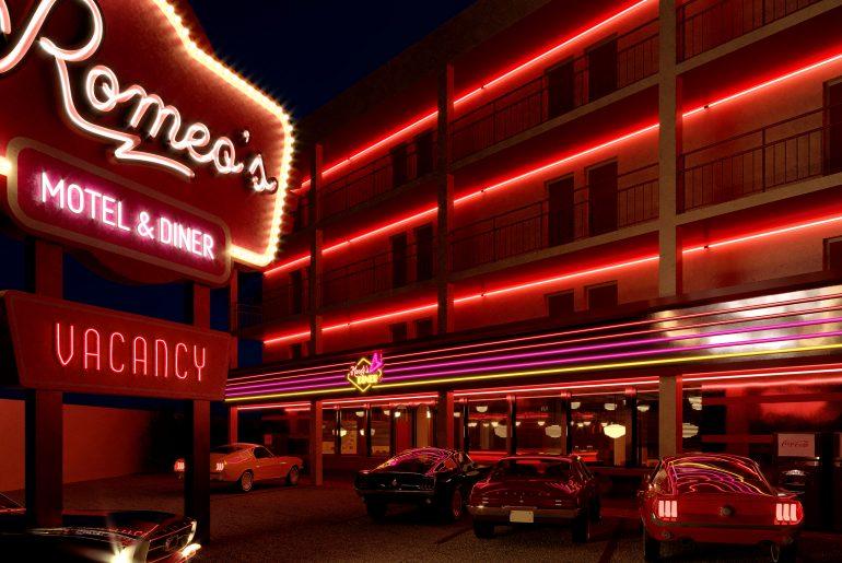 Romeos Motel & Diner_ Parking (16)